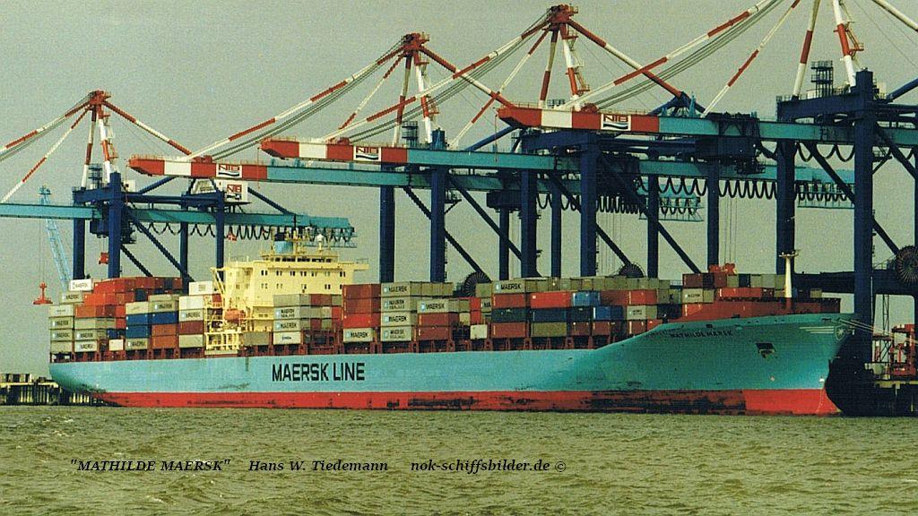 Mathilde Maersk, DIS - 31.08.01 Bhvn CT