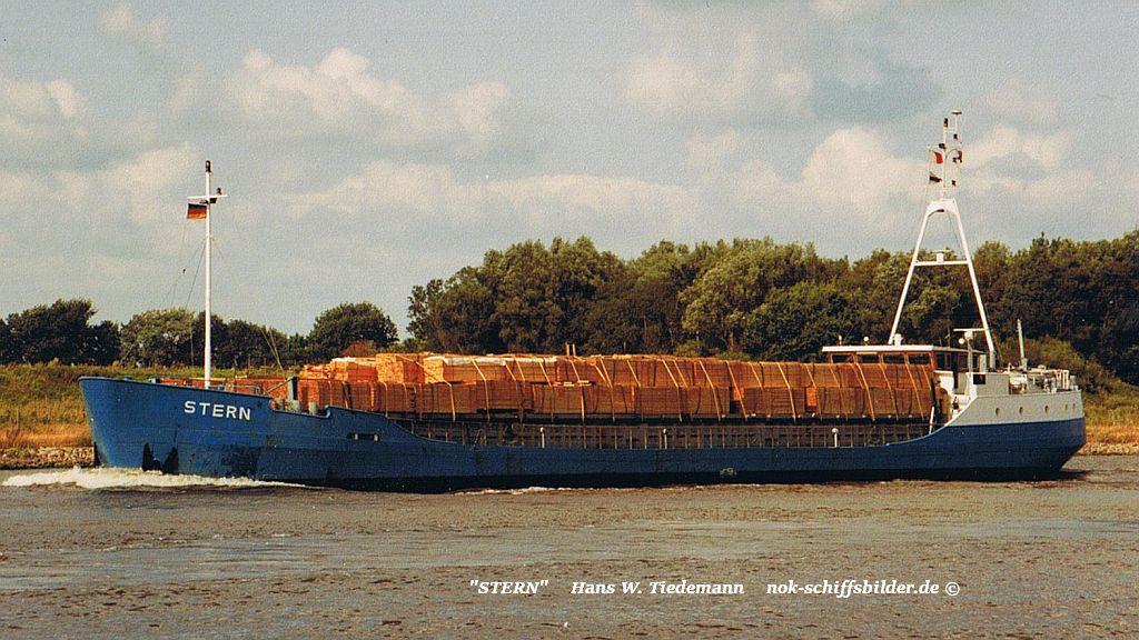 Stern, NLD, Lemmer - 06.08.94 kiel Canal