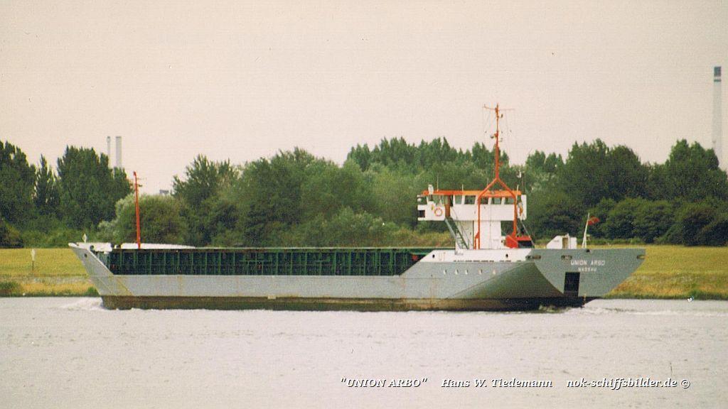 Union Arbo, BHS - 07.08.96 R'dam
