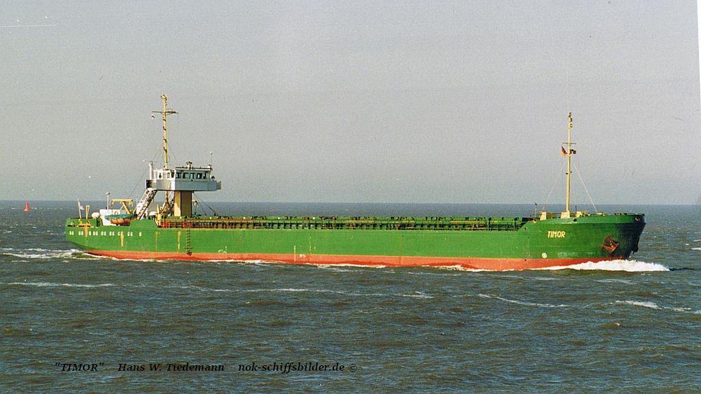 Timor, CYP - 14.04.96 Elbe Cux