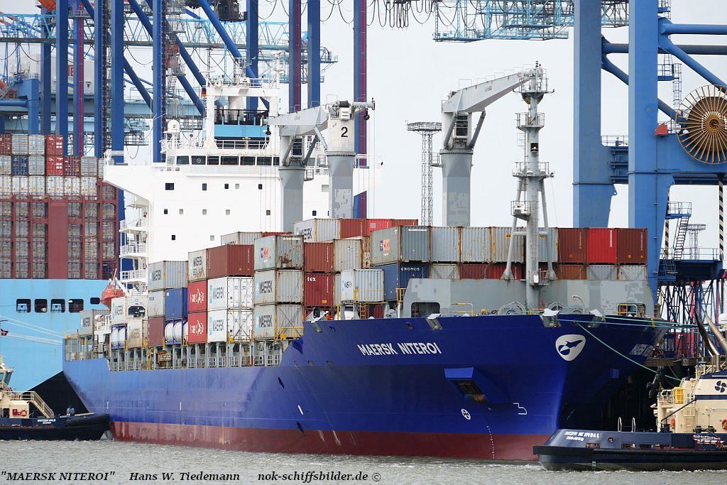 Maersk Niteroi, HKG - CT  13.10.2019