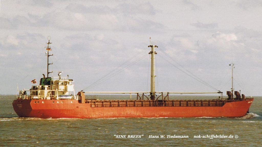Sine Brees, DNK - 26.02.89 Elbe