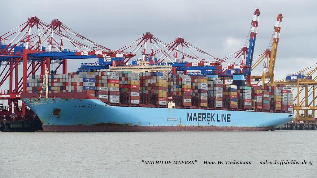 Mathilde Maersk, DIS, -15, 194.916 dwt - Bhv 09.11.2019