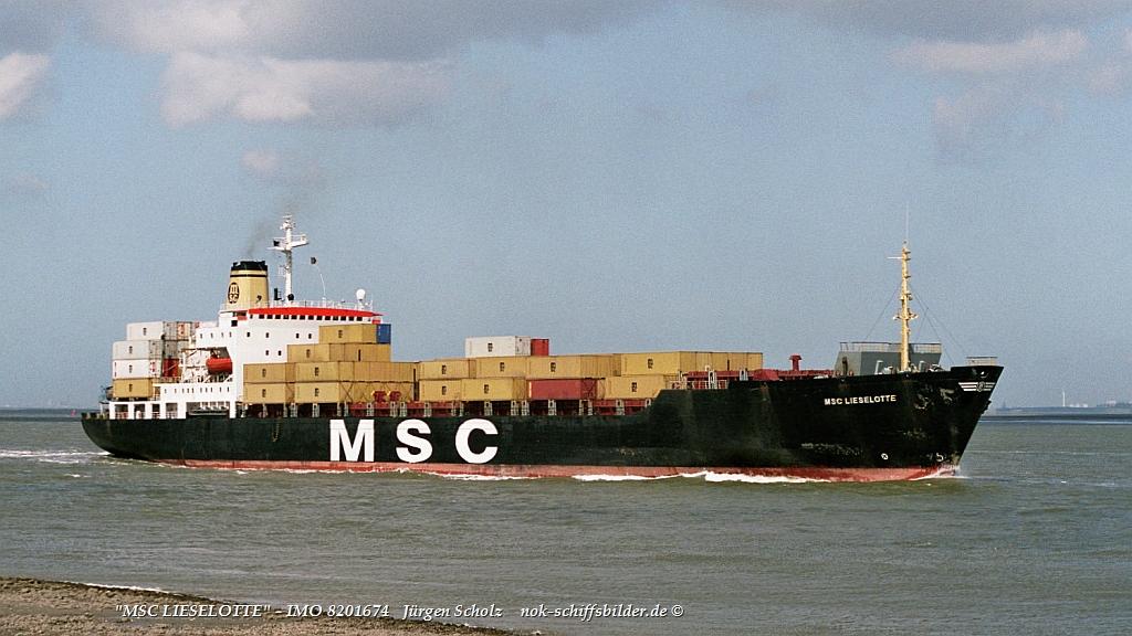 MSC LIESELOTTE - IMO 8201674 Schelde 2005.jpg
