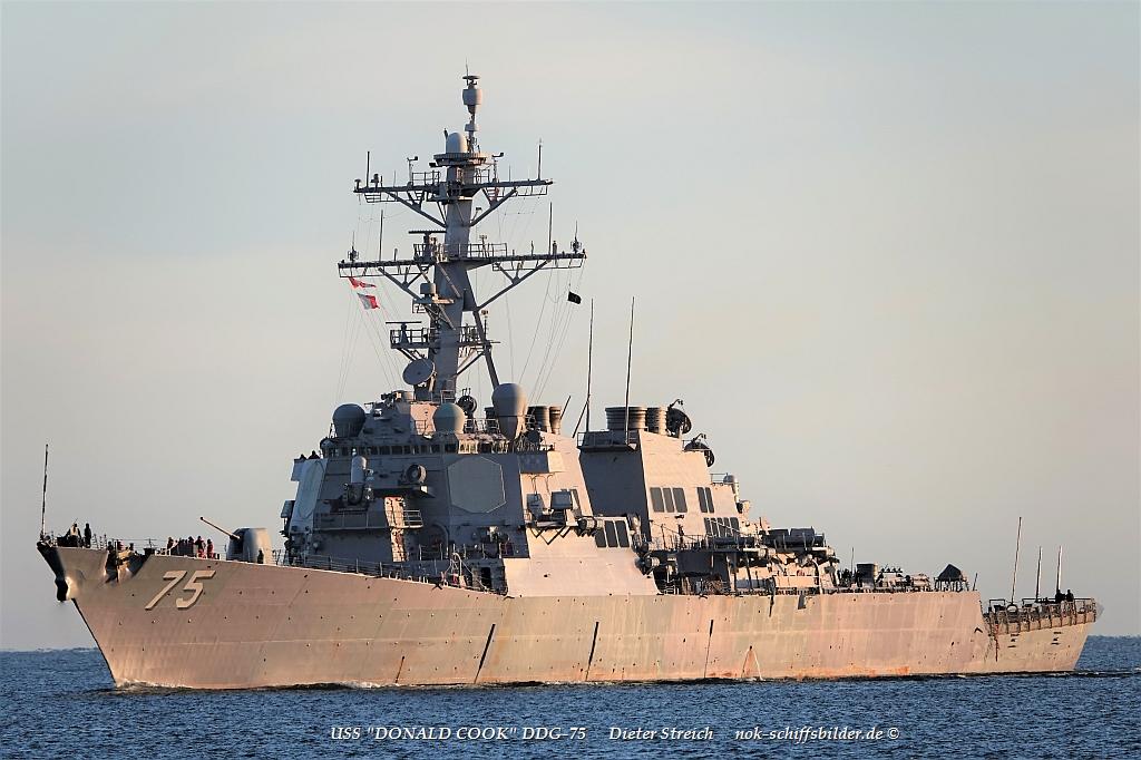 USS  DONALD COOK DDG-75