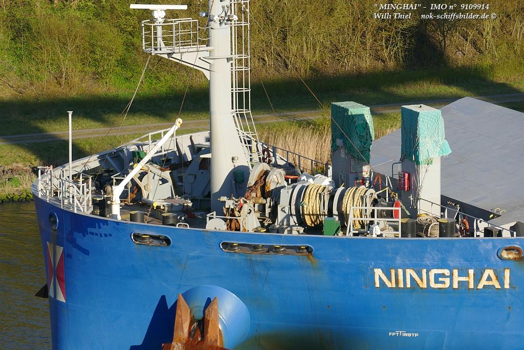 NINGHAI  -  Back
