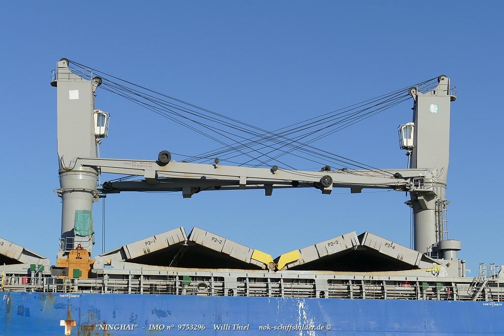 NINGHAI  - Crane SWL 35 to.