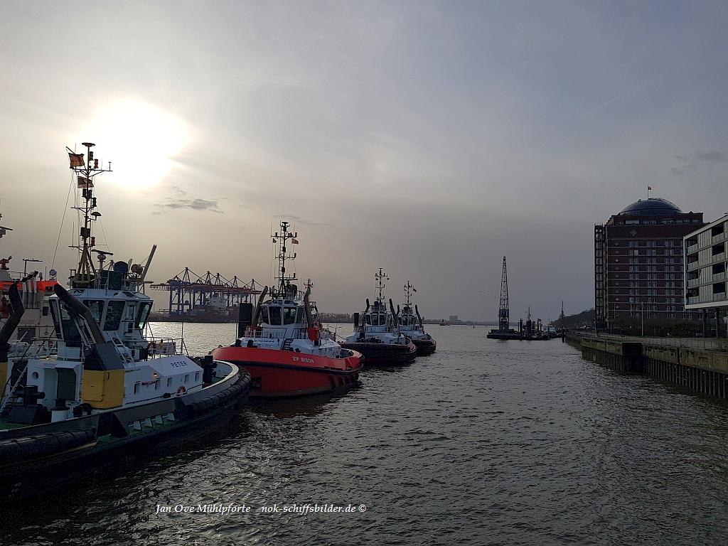 Schlepper-Pier -Hamburg
