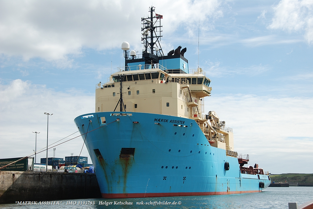 MAERSK ASSISTER - IMO 9193783