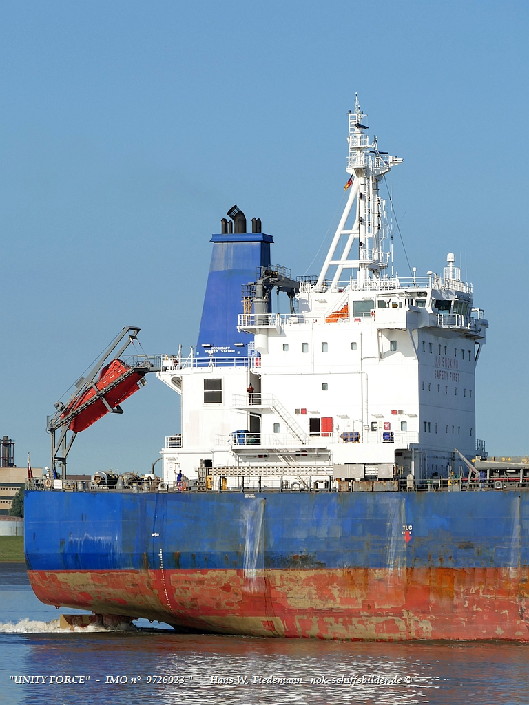 UNITY FORCE  - DAO SHIPPING LTD