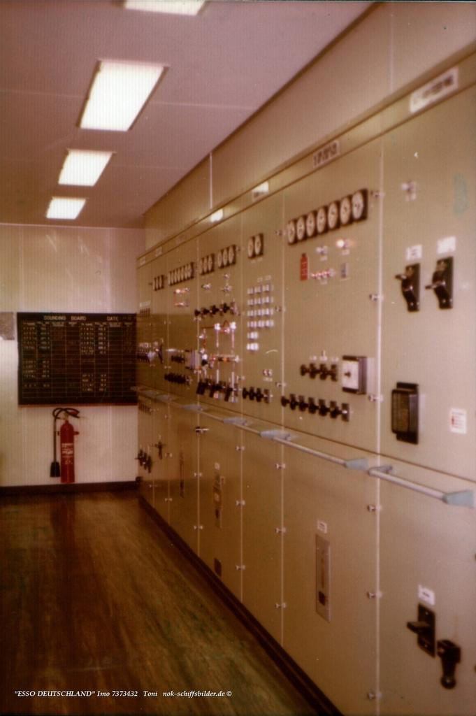 ESSO DEUTSCHLAND - Controlraum