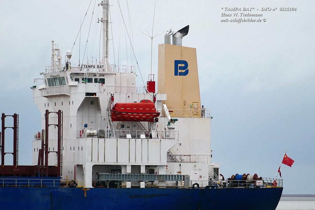 TAMPA BAY   - PACIFIC BASIN SHIPPING
