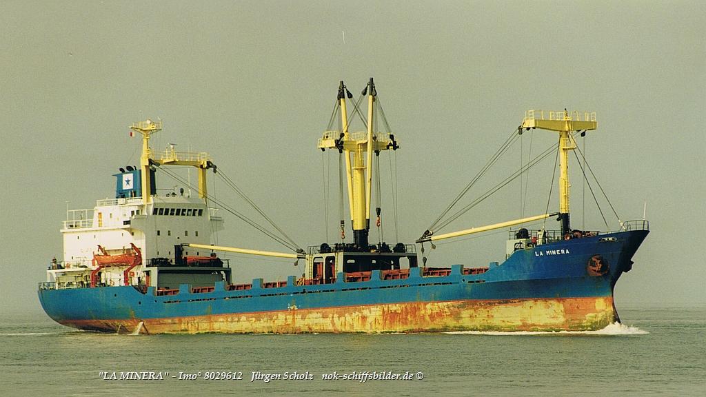 LA MINERA  - Imo° 8029612  Elbe-Cuxhaven 09.1999.jpg