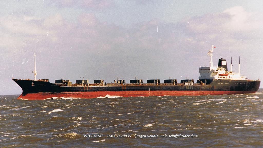 WILLIAM - IMO 7429035 Bolten  Elbe-Cuxhjaven 09.1988.jpg