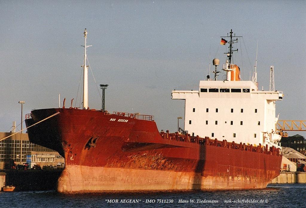 Mor Aegean, CYM, -77, IMO 75112230, ex Levant Fulda-97 - 20.09.97 Cux.jpg