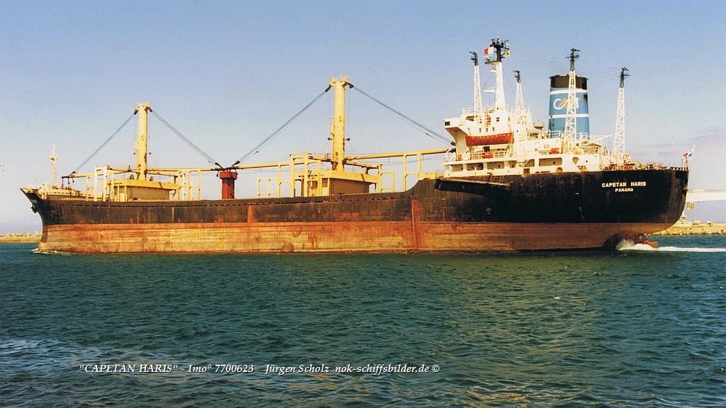 CAPETAN HARIS  - Imo° 7700623  ausl. Durban 17.12.1998.jpg