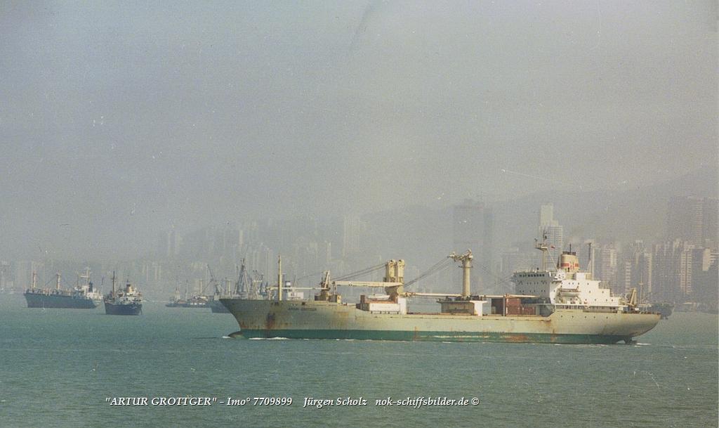 ARTUR GROTTGER  - Imo° 7709899   Honk Kong 14.11.1985.jpg
