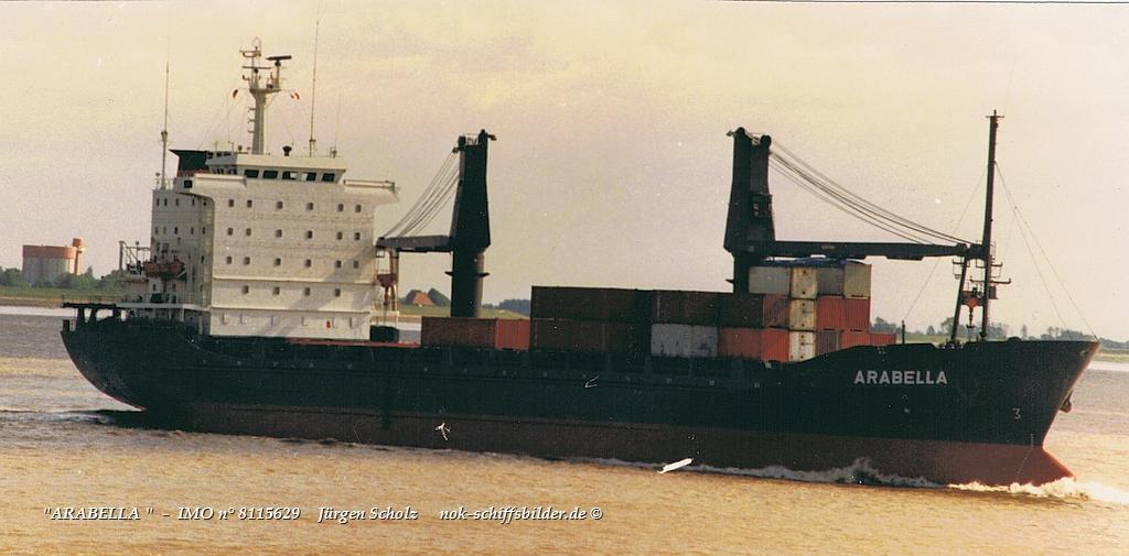ARABELLA    -  IMO n° 8115629    Weser-Bremerhaven 06.1988.jpg
