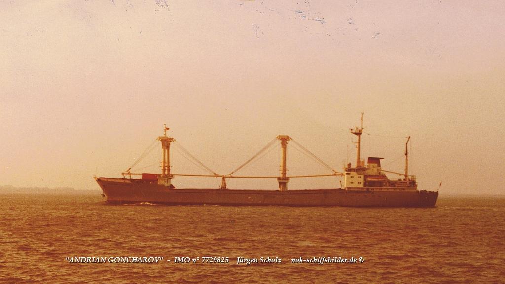 ANDRIAN GONCHAROV   Imo° 7729825 Weser-Bremerhaven 11.1982.jpg