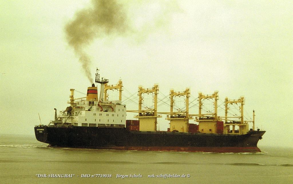 DSR-SHANGHAI  -  IMO n°7719038 Weser -Bremerhaven  18.11.1992.jpg