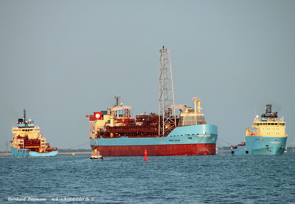 Maersk Trader- Maersk Curlew- Maersk Leader