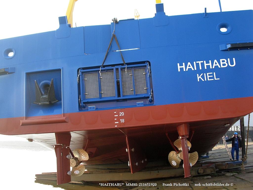 HAITHABU  - Heckbereich