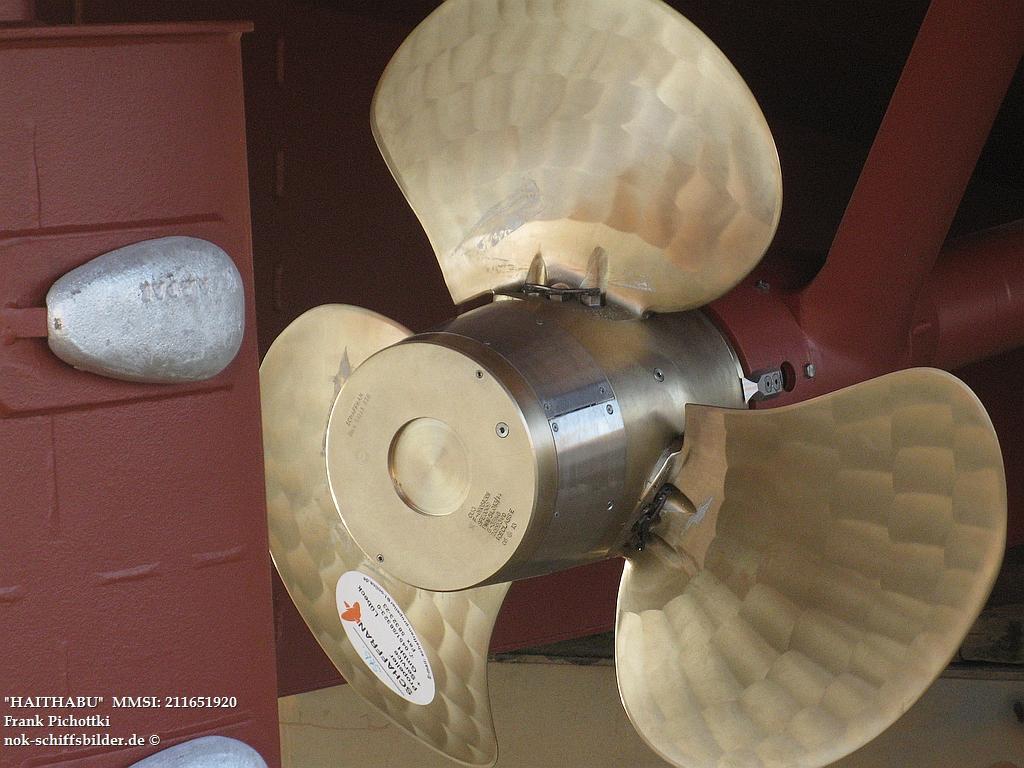HAITHABU  - Verstellpropeller