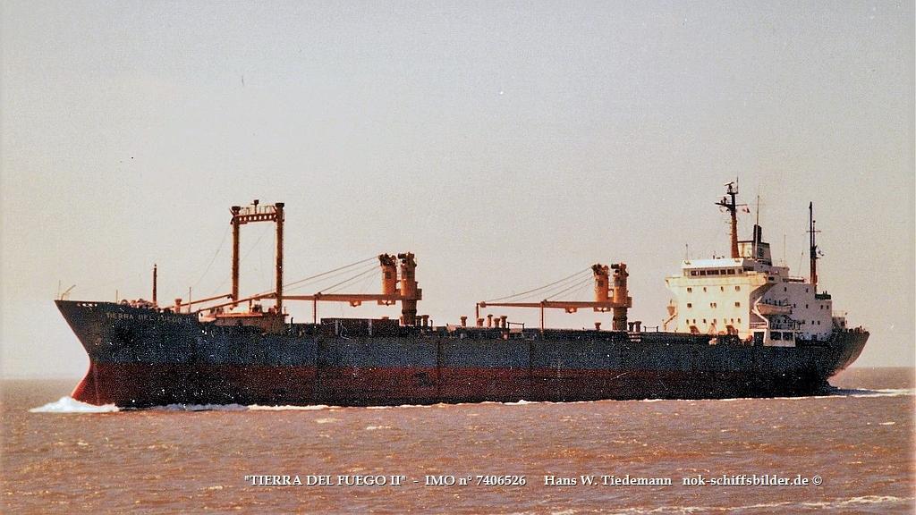 Tierra del Fuego II, ARG, -77, IMO 7406526 - 18.06.89 Bhv.jpg