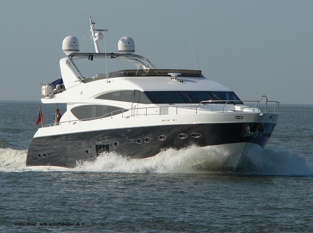 Engl. Russische Yacht...