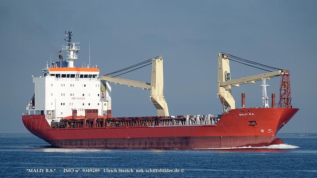 MALIY B.S.  -  IMO n°  9349289    vor Kiel 13.02.21 Foto Streich.jpg