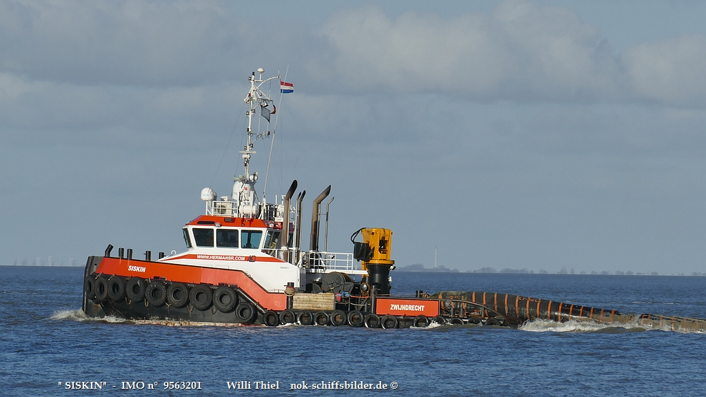 SISKIN - Superschlepp vor Cuxhaven
