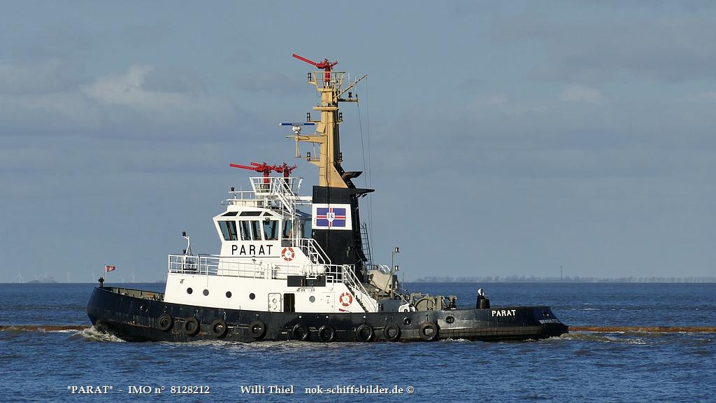 PARAT- Superschlepp vor Cuxhaven