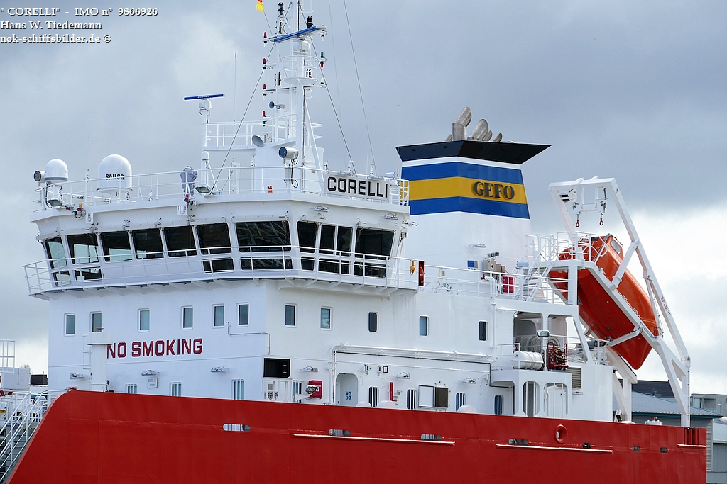 CORELLI  -  Gefo shipping-group