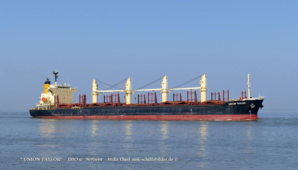 UNION TAYLOR  -  IMO n°  9691644    Elbe Cuxhaven 31.03.2021   q.jpg