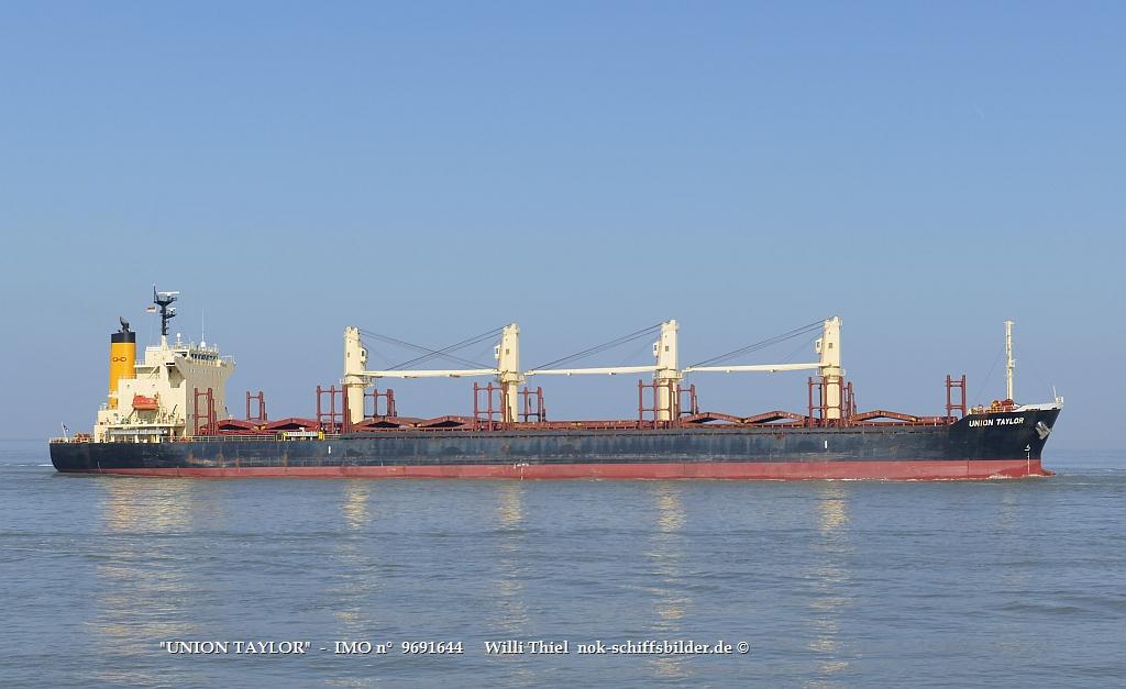 UNION TAYLOR  -  IMO n°  9691644    Elbe Cuxhaven 31.03.2021   qtt.jpg