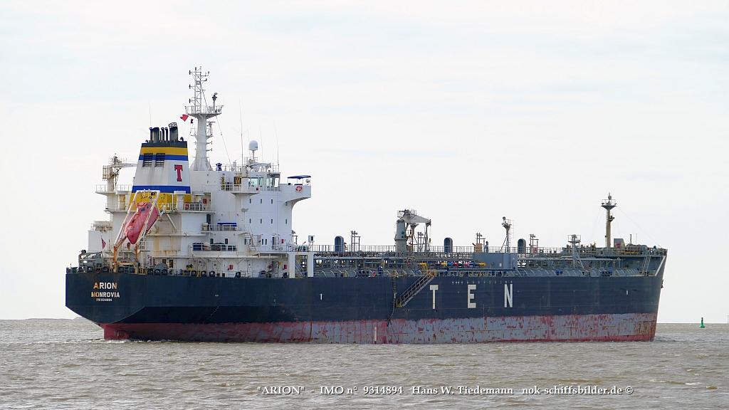 ARION    -  IMO n°  9314894