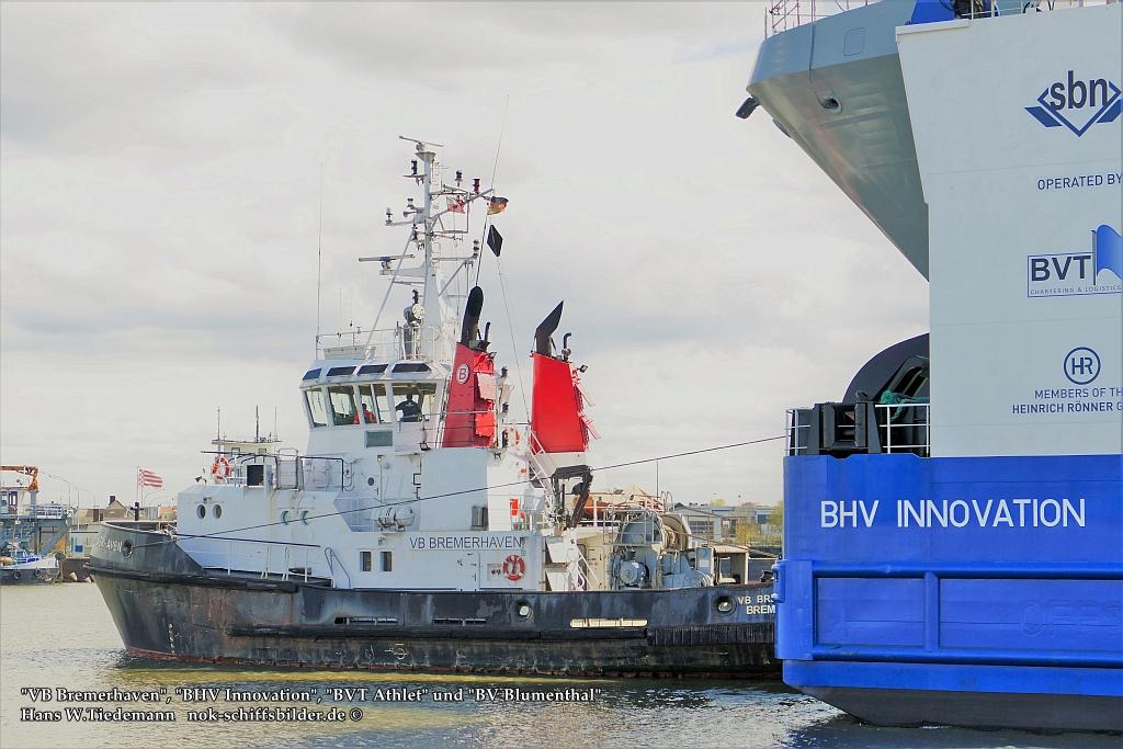 VB Bremerhaven , BHV Innovation , BVT Athlet und BV Blumenthal