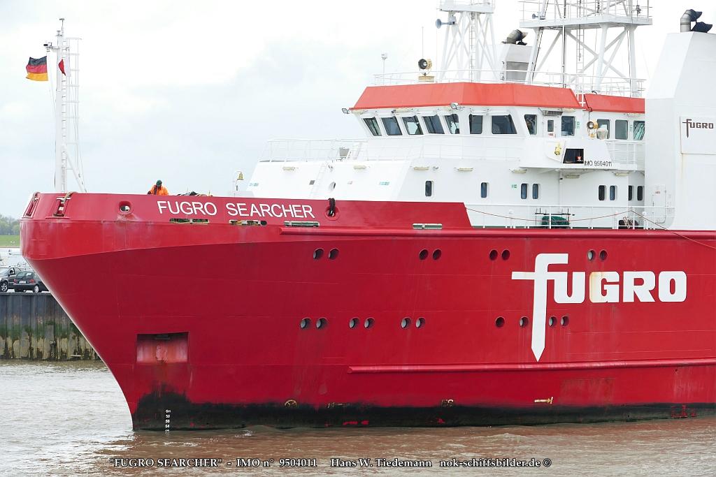 FUGRO SEARCHER  -   Vorschiff