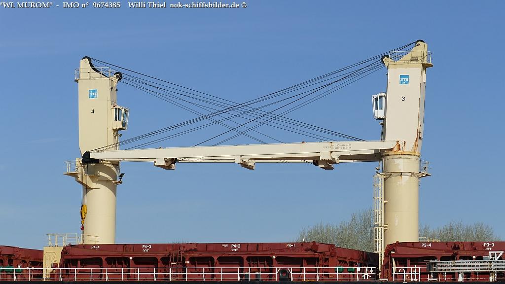 WL MUROM  -  Crane 3 + 4