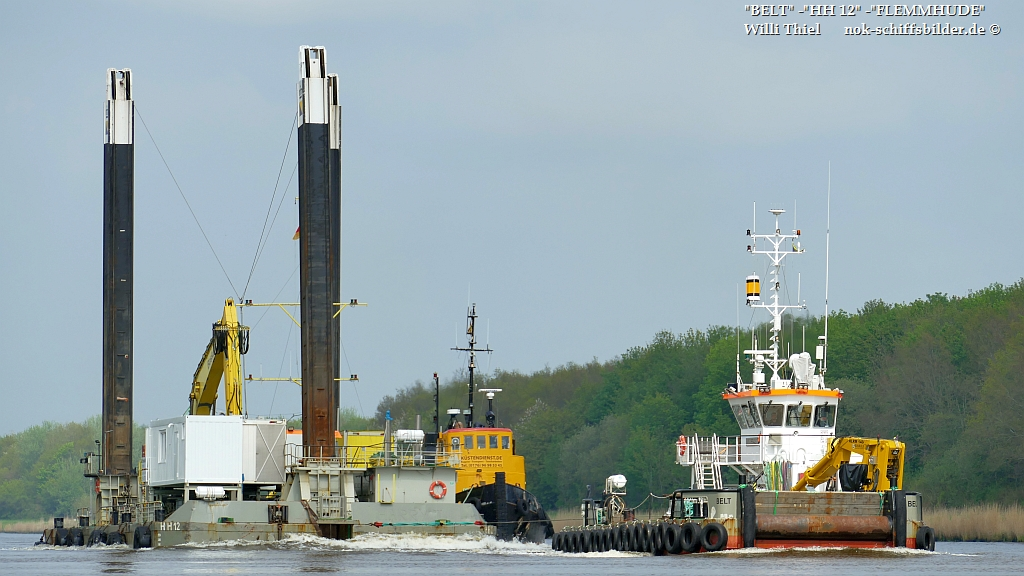 BELT & FLEMHUDE with barge  HH 12
