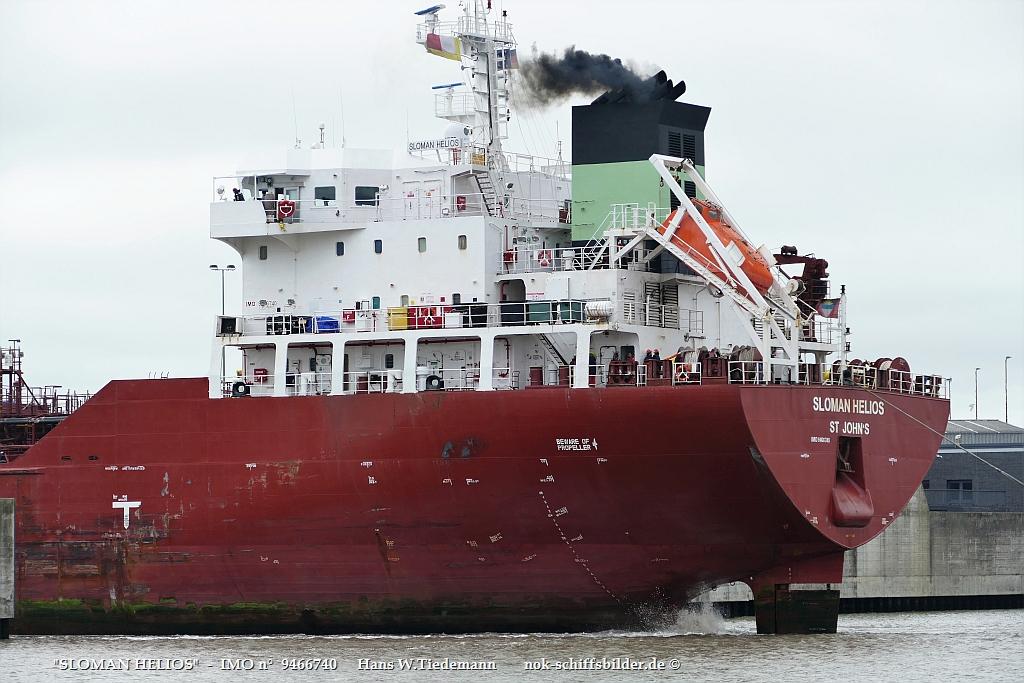 SLOMAN HELIOS  -  SLOMAN NEPTUN Reederei