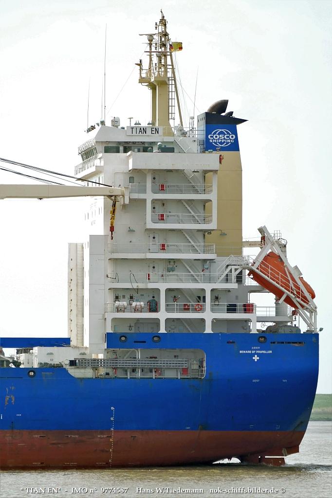 TIAN EN  -COSCO SHIPPING SPECIALIZED