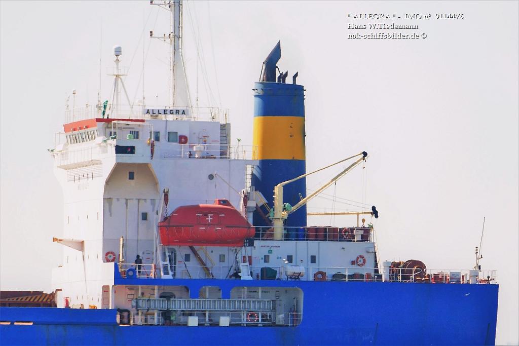ALLEGRA - SEA HAWK MARITIME