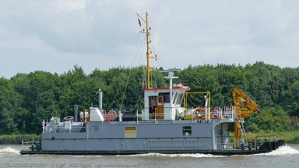 Taucherschiffb T 1107