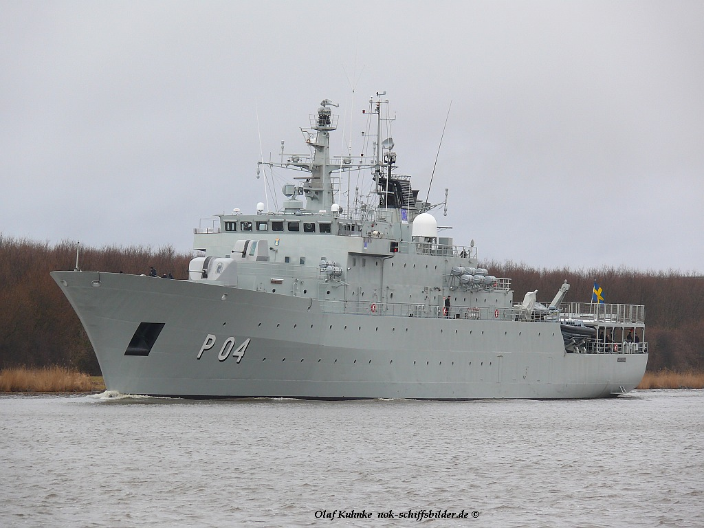 HMS CARLSKRONA P04