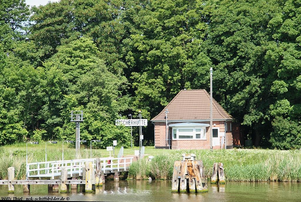 Fischerhütte Weichenhäuschen
