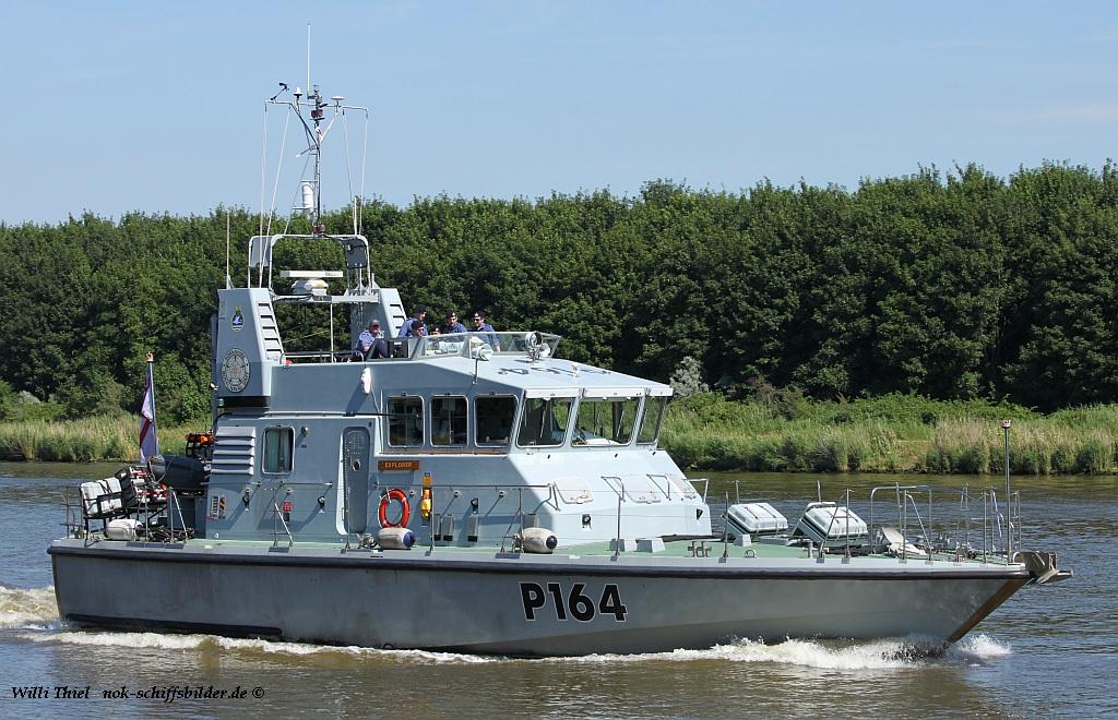 HMS EXPLORER  P 164