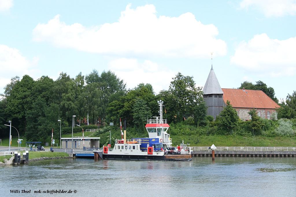 Sehestedt- Fährstelle