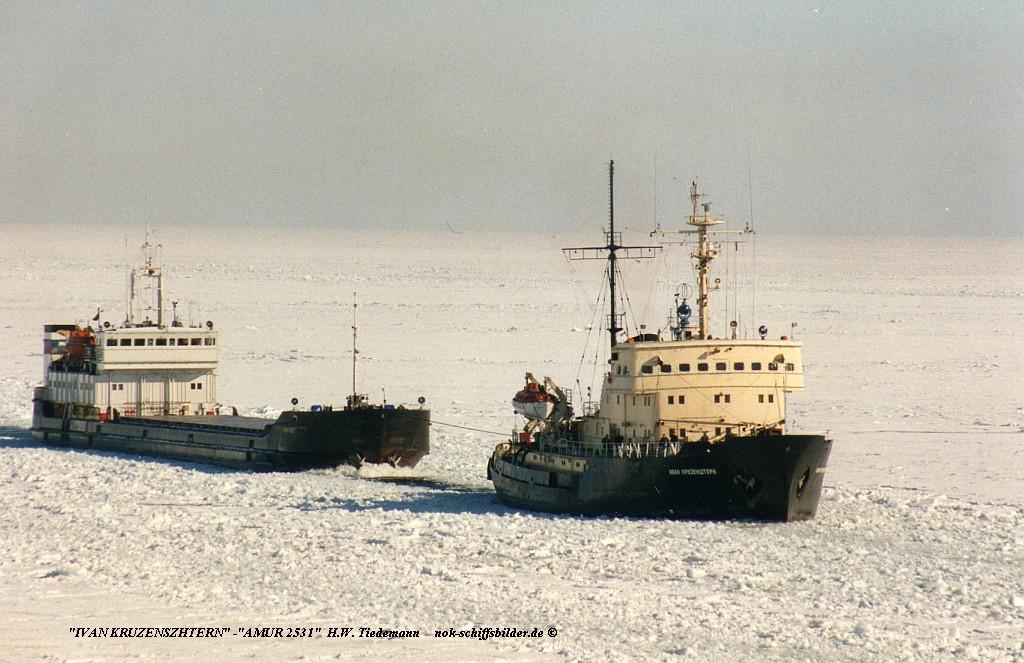 IVAN KRUZENSHTERN & Amur...