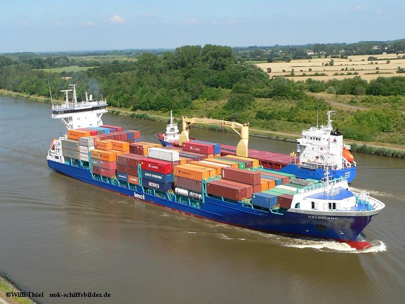 Schiffe im NOK